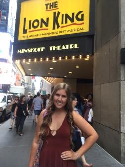 The Minskoff Theatre!